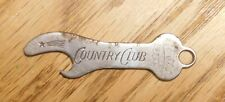 Prewar Goetz Brewing Co.Bottle Opener St.Joseph,Mo.Advertising Country Club Beer