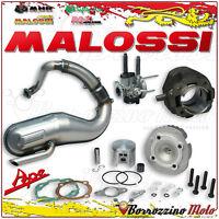 Malossi Set Modification 102cc Silencer Cylinder Head Carburettor 19 Piaggio Ape