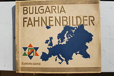 4756 BULGARIA FAHNEN BILDER ALBUM cards flags 1931 Europa Deutsches Reich