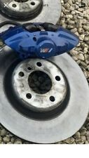 BMW ** Big Blue Brake Caliper's Rear Only Set Of Two  ** BMW 1 2 3 4 F2x F3x