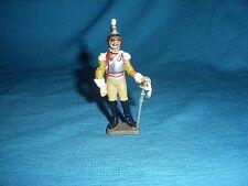 579A Starlux Atlas Figurine Plomb Empire Sous Officier 7 Rgt 1/32 Napoleon