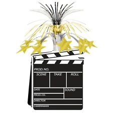 Movie Set Clapboard and Stars Centrepiece - 38 cm - Hollywood Party Decoration