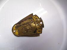 Schutzblechemblem Original  Sprinter  Oldtimer Fahrrad Steuerkopfschild