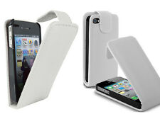 para el iPhone 4 y 4s Funda para móvil Cover Flip case blanco