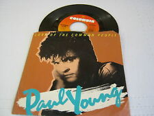 Dave Young Love Of The Common People/Behind Your Smile 45 RPM W/PS Columbia