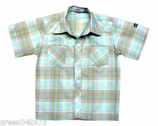 Plaid #12 Oshkosh Plaid Front Button Shirt , Boys Wear available for 6 years old