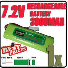 1 pcs accu 7.2V 3800mAh Ni-Mh rechargeable batterie RC Tamiya Plug