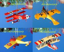Decoration Ornament Home Party Xmas WW1 European Fighter Planes *Z_13610