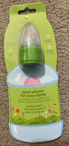 Green Sprouts Spill Proof Spout Sippy Cup Water Bottle Cap Adapter - NEW