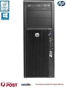 HP Z210 Workstation Tower Intel i7-2600 @3.40GHz, 8GBRAM, 500 +160 GB HDD, Win10