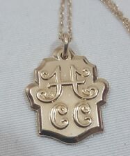 James Avery Gold Filled HCC Charm Retired/Rare & 18 inch 14k gold chain