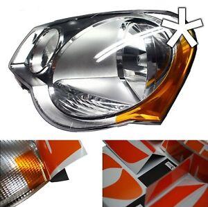 US - Design - Folie für Scheinwerfer / Blinker VW Polo 9N3 links / rechts
