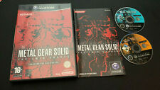 Metal Gear Solid the Twin Snakes Gamecube Game Cube PAL