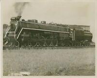 1961 Canadian National Railway Steam Locomotive Photo 6167 4-8-4 Canada Railroad