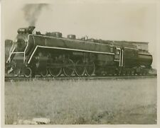1961 Canadian National Railway Steam Locomotive Photo 6167 4-8-4 Canada Railroad