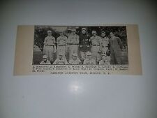 Carlton Academy Summit New Jersey 1911 Baseball Team Picture Sp Rare