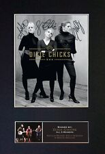 #786 DIXIE CHICKS Signature/Autograph - Mounted Signed Photograph A4