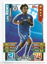 2015 / 2016 EPL Match Attax Base Card (72) Loic REMY Chelsea