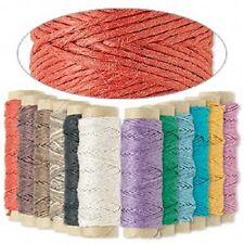 Cord Twine Thread Hemptique Natural Hemp, MANY COLORS, 0.5mm 10 lb test, 29 feet