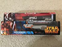 Set of 2 star wars lightsabers: Anakin, Darth Vader