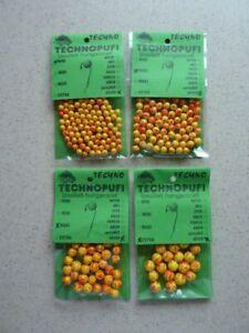 TOP Karpfen Köder Technopufi Schaum Kugel Pop Ups 7-9 mm Karpfen  Graskarpfen