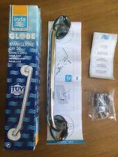 Chrome Home Bathroom Disability Handle Hand Rail Grab Safety Bar -30cm