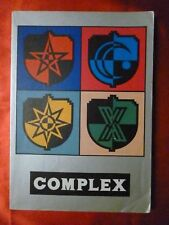 COMPLEX Songbook JAPAN BAND SCORE Sheet Music 12 songs 192 pages 1989 PHOTOS