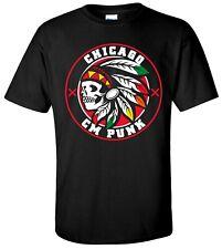 CM PUNK Indian T-shirt - XS-XXXL - M/F