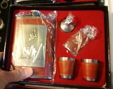 3 Cute Antique Collectible Drinking Set of Jack Daniels, Johnnie Walker Box Gift