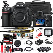 Nikon D850 DSLR Camera Body Only 1585  - Advanced Bundle