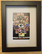 NFL Football Green Bay Packers Team Collage Matted & Framed Picture
