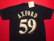 JOHN AXFORD #59 MILWAUKEE BREWERS Majestic T-Shirt Jersey Youth Medium MLB