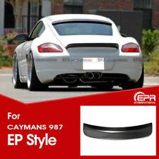 For Porsche 2006-2012 Caymans 987 EP Style Carbon Rear Duckbill Spoiler Wing kit