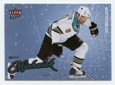 08-09 FLEER ULTRA ICE MEDALLION #185 MILAN MICHALEK 061/100 SHARKS *56296