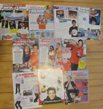 Austin Mahone, Lot of TEN Full Page Clippings