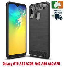 Brand NEW Rugged Case For Samsung Galaxy A10/20/40/50/70/71 Carbon Fiber Design