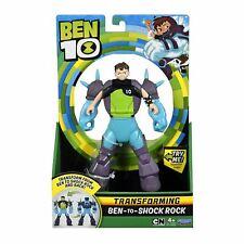 Ben 10 Ben-to-ShockrockTransforming Action Figure Toy +4 Boys 17cm 6.5''