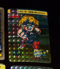 STREET FIGHTER II SD KO CARD PRISM HOLO CARD 24 BANDAI MADE IN JAPAN 1992 **