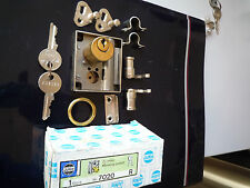 5 X JuNie Drehstangenschloss # 7020 Zylinder Messing mit Zubehör NEU