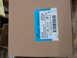 """CROUSE-HINDS GLL10, 4"""" MALLEABLE INSULATED THROAT GROUNDED BUSHING- NEW in Box"""