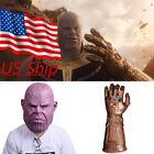2018 Revengers 3 Infinity War Thanos Infinity Gauntle Cosplay Thanos Mask Latex