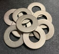 "5/8"" Flat Washers, Grade 2 Titanium (pack of 10)"