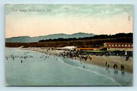 Santa Monica, CA - EARLY 1900s BEACH SURF BATHING SCENE - KOEBER POSTCARD