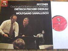 1C 065-45 616 Pfitzner Songs for Baritone & Orchestra / Fischer-Dieskau