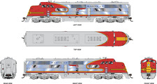 Broadway Limited 4534 EMC E1 A Unit, ATSF #7L, Pre-1946 Signal Red Warbonnet