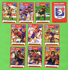 1991 NEWCASTLE KNIGHTS  STIMOROL RUGBY LEAGUE CARDS