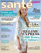 SANTE MAGAZINE n°499 juillet 2017 Régime express_Guérir par méditation_Séduction