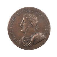 1550 - François Ier, Médaille, Paix de Tournai en 1519, 53mm, RARISSIME !
