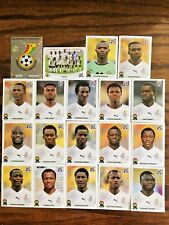 GHANA TEAM 19 PANINI STICKERS, WORLD CUP SOUTH AFRICA 2010 #AFRICA16