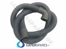 COMMERCIAL 2M FLEXIBLE GRAVITY WASTE PIPE DRAIN HOSE DISHWASHER GLASSWASHER